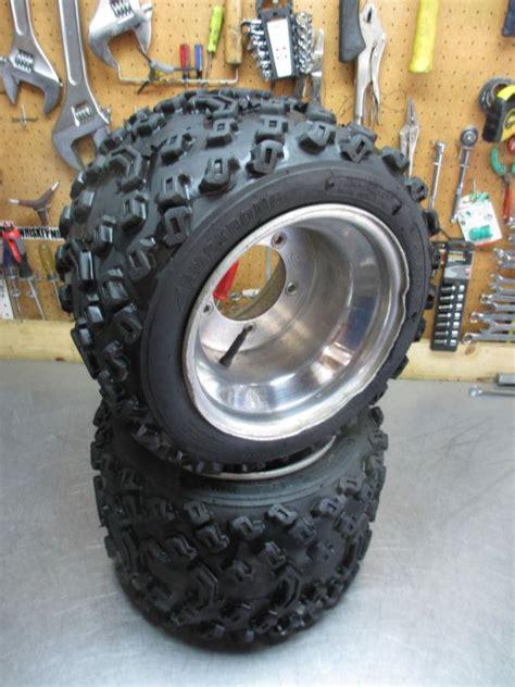 sell suzuki lt  rear wheels tires  quadzilla