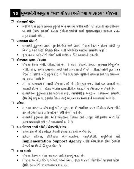 "Ma Yojana Gujarat Mukhyamantri Amrutam ""MA"" & ""MA Vatsalya"