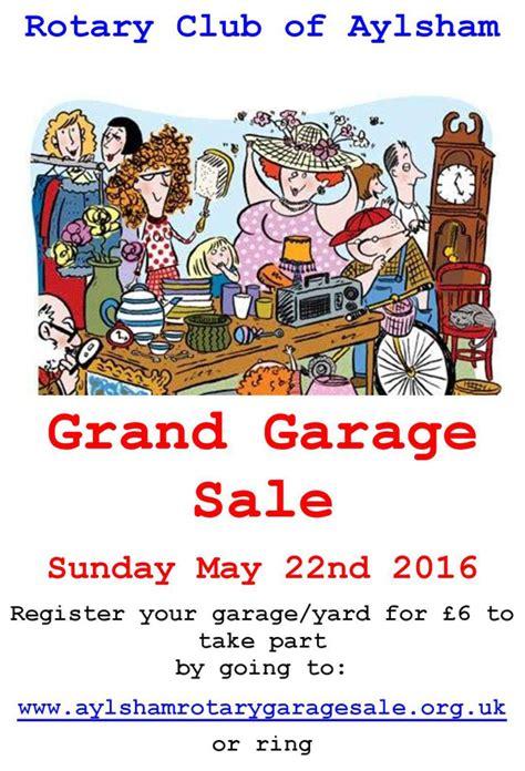 grand garage sales aylsham rotary club grand garage sunday may 22 2016