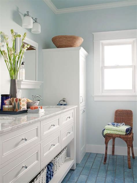 Blue Bathroom Ideas Pictures by 36 Blue And White Bathroom Floor Tile Ideas And Pictures