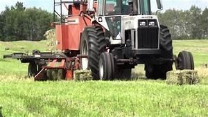 3 Agco Hesston 4590 Square Bale Machine 1 Tractor Product Showcase