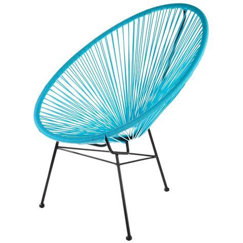la chaise longue tours fauteuil acapulco turquoise la chaise longue