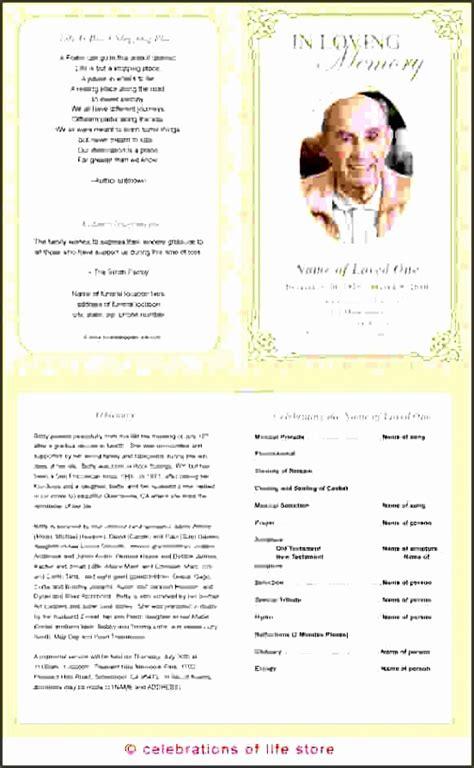 printable funeral program template sampletemplatess