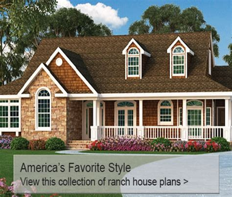 big porch house plans single house plans with large front porch ranch big