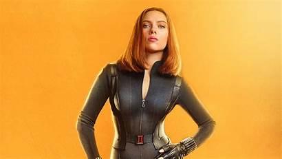 Scarlett Johansson Widow Avengers Infinity War 4k