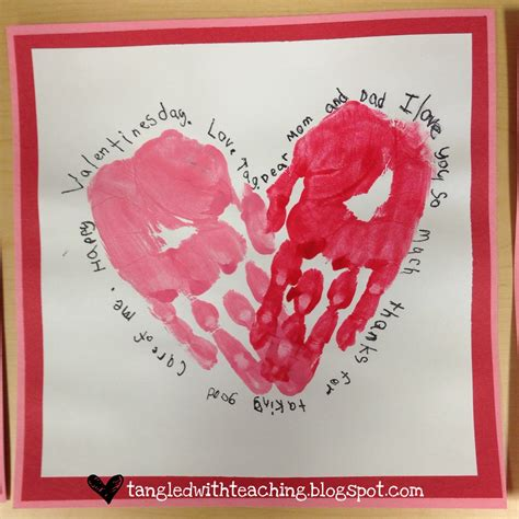 tangled with teaching valentines felt handprint hearts 912 | 2013 02 11 16.41.57