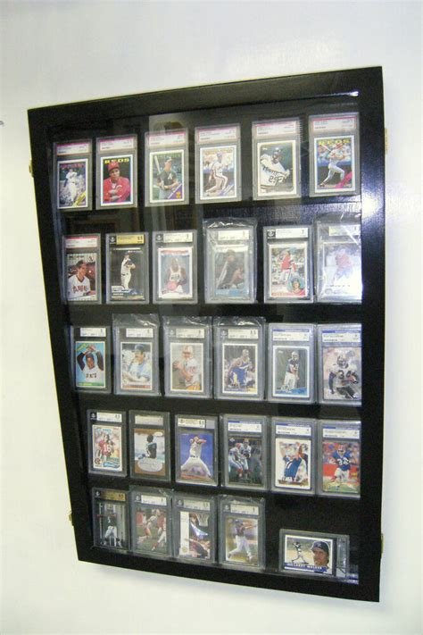 Displays2go.com has been visited by 10k+ users in the past month Graded baseball Card DIsplay Case PSA, Beckett 30 Deep | eBay