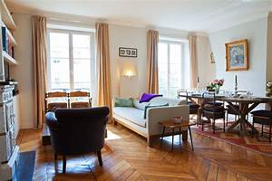 Salon Classique Chic : appartement canal saint martin classique chic salon paris par 2design architecture ~ Dallasstarsshop.com Idées de Décoration