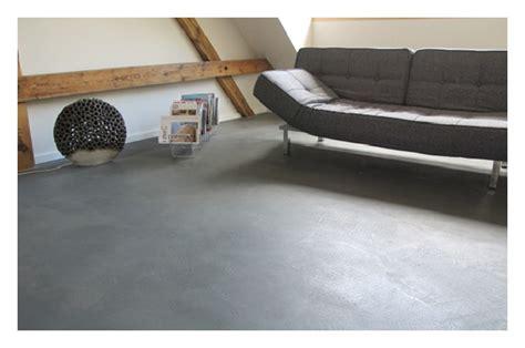 Estrichboden Im Wohnbereich by Ecofloor Designestrich Designb 246 Den Beton Polieren Beton