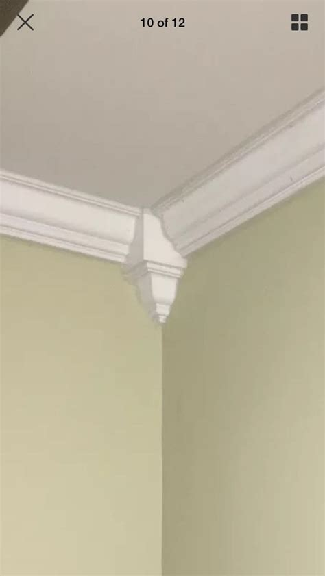 Crown Molding Inside Corner Blocks Made From Wood 8 Pack