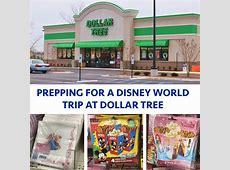 Prepping for a Disney World trip at Dollar Tree