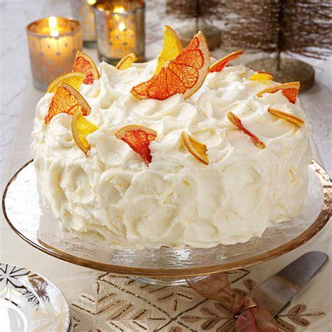 Grapefruit Layer Cake Recipe | Taste of Home