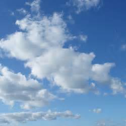 Fluffy White Clouds Desktop Wallpaper | iskin.co.uk