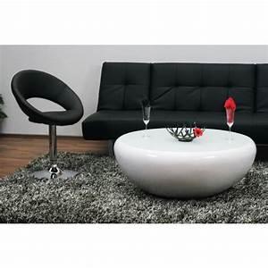 Couchtisch Rund Weiß Hochglanz : design couchtisch weiss hochglanz 100 cm rund mit glasplatte neu ebay ~ Whattoseeinmadrid.com Haus und Dekorationen