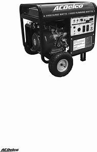 Page 2 Of Acdelco Portable Generator Ac