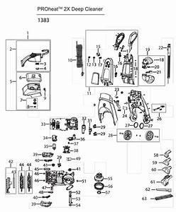Rug Doctor Parts Diagram