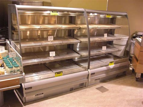 hot food display cases  cabinets