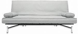 Canapé Gris Clair Convertible : canape lit clic clac design spider gris clair convertible ~ Teatrodelosmanantiales.com Idées de Décoration