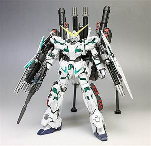 HGUC 1/144 RX-0 Full Armor Unicorn Gundam (Destroy Mode ...