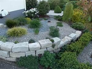 Gartenideen Mit Steinen : bilder gartengestaltung mit steinen great gartengestaltung mit steinen am hang banister style ~ Indierocktalk.com Haus und Dekorationen