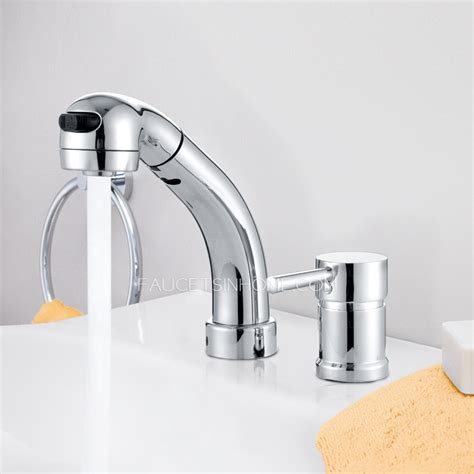 kitchen sink faucet sprayer modern pullout spray two bathroom sink faucet