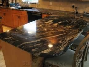 titanium granite kitchen countertop titanium black