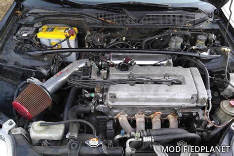 honda civic  engine bay  injen short ram air intake