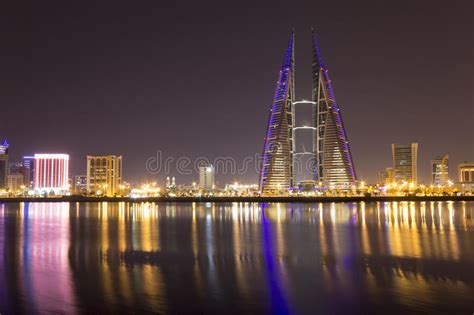 Bahrain World Trade Center stock photo. Image of exposure ...