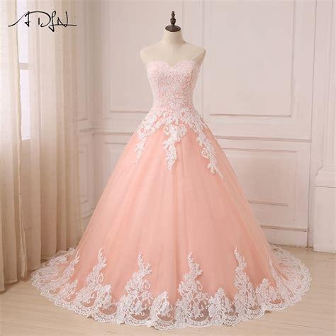 Fashionable Coral Wedding Dresses   Pink Wedding