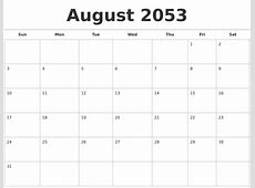 February 2054 Blank Monthly Calendar
