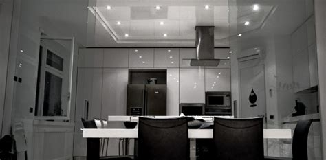 The Stretch Ceiling In The Kitchen by Kitchen Stretch Ceiling Design Installation