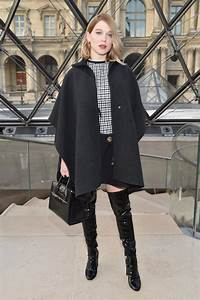 Lea Seydoux Over The Knee Boots Over The Knee Boots