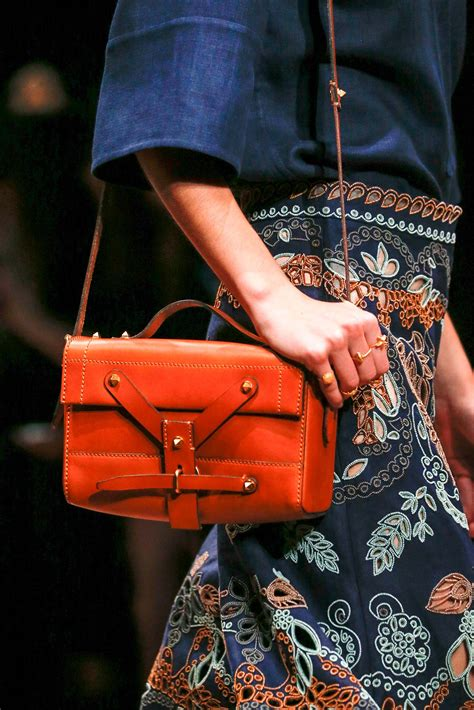 valentino springsummer  runway bag collection spotted fashion