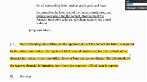proof  funds letter sample  bank  canada