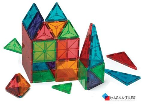 magna tiles clear 100 magna tiles 174 clear colors 100 set shopswell