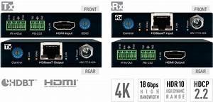 Kd-x222po  Hdbaset  Hdmi Extenders  Tx  Rx Kit