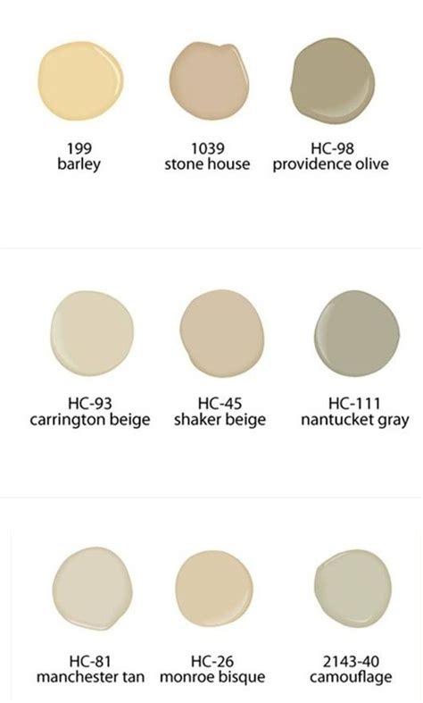 17 best images about shaker beige benjamin on