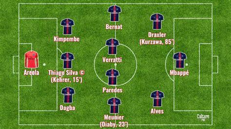 Match : Mbappé et Draxler titulaires pour Lille/PSG ...