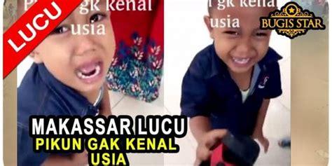 cerita lucu makassar   populer tulisan lucu