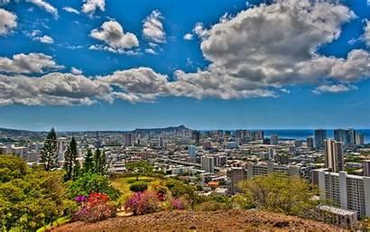 Honolulu Overlook Punchbowl Wallpapers