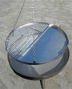 Feuerschale 200 Cm Durchmesser : grillrost mit schriftzug und pfanne zu dreibein 60 cm flammorama ~ Markanthonyermac.com Haus und Dekorationen
