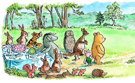 Do 'winnie-the-pooh' Characters Represent Different Mental