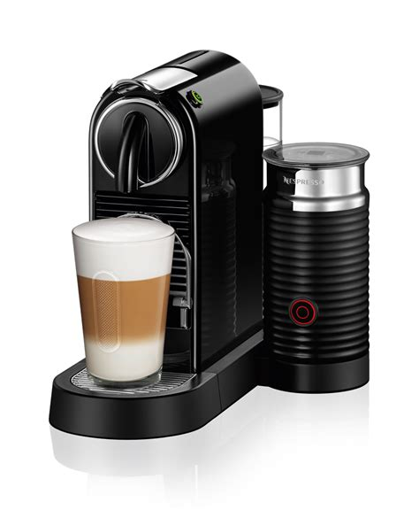 Nespresso CitiZ&Milk Black   Coffee Machine for perfect frothy drinks