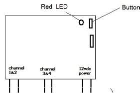 Four Channel Remote Control System Linear