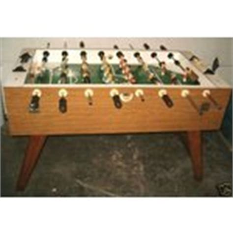 vintage champion soccer foosball table quality
