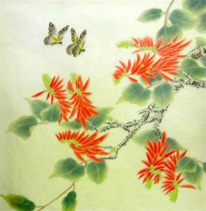 Chinese Painting: Butterfly-Flower - Chinese Painting ...