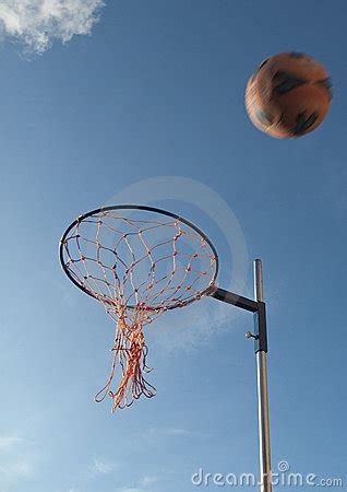 netball hoop  netball royalty  stock  image
