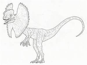 Jurassic Park Dilophosaurus By Sommodracorex On Deviantart