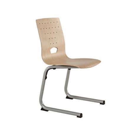 chaise à piètement luge jumbo chaise xéos pietement luge millenium collectivites