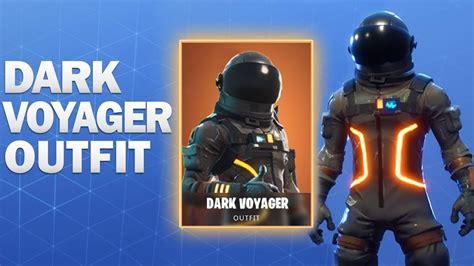 Dark Voyager Fortnite Skin Showcase Youtube